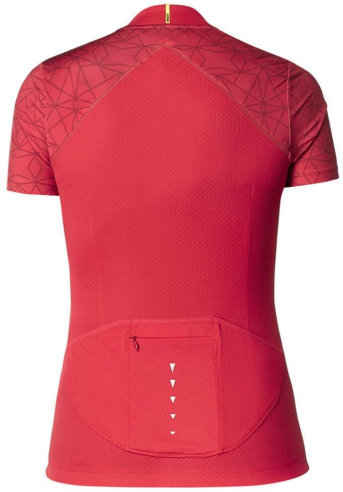 f14ad0fee Mavic Sequence Graphic Bike Jersey Shortsleeve Women red at Bikester ...